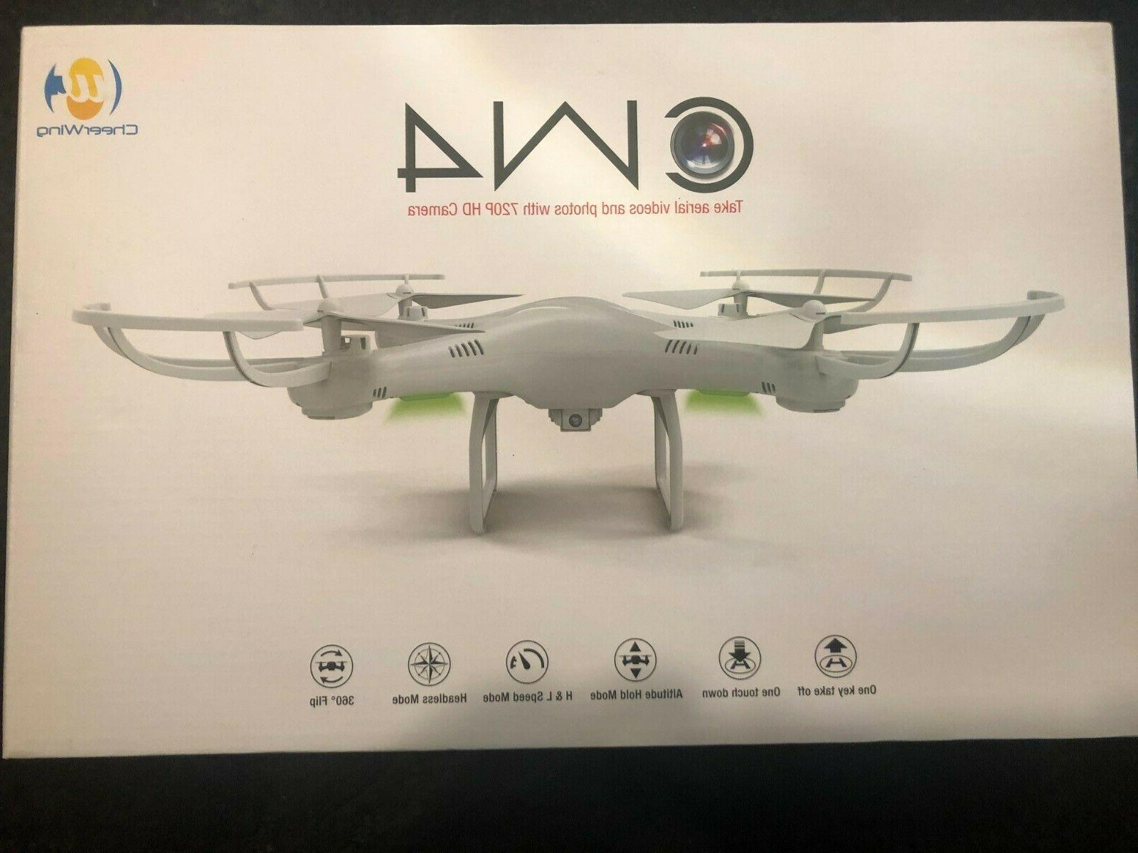 cw4 drone with 720p hd camera