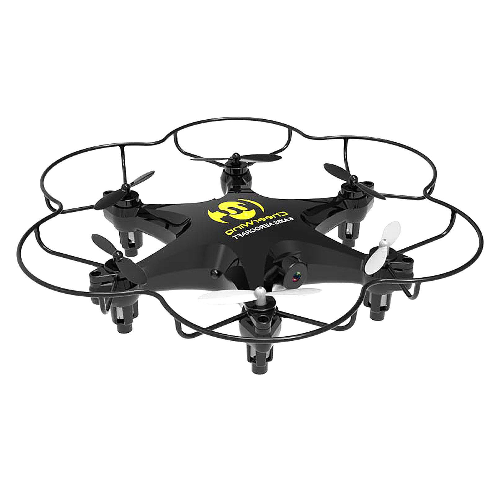 Cheerwing CW6 RC Hexacopter Mini Drone w/2MP Camera