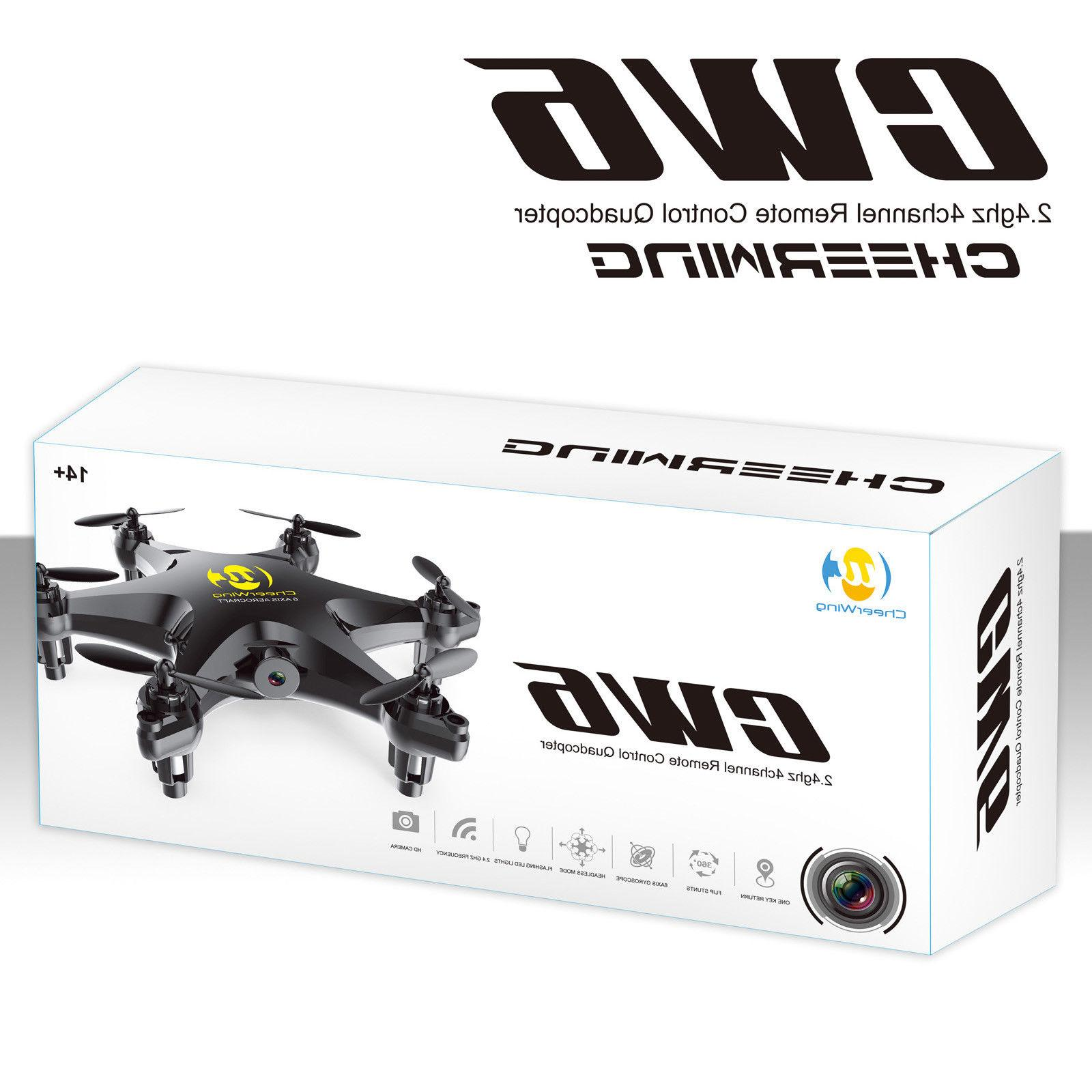 Cheerwing CW6 RC Drone w/2MP Camera