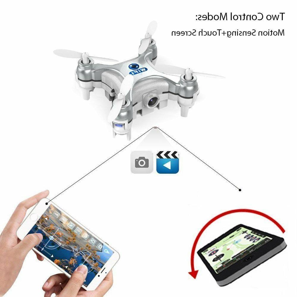 CX-10W Gyro RC w/ HD Camera Video Wifi Drone