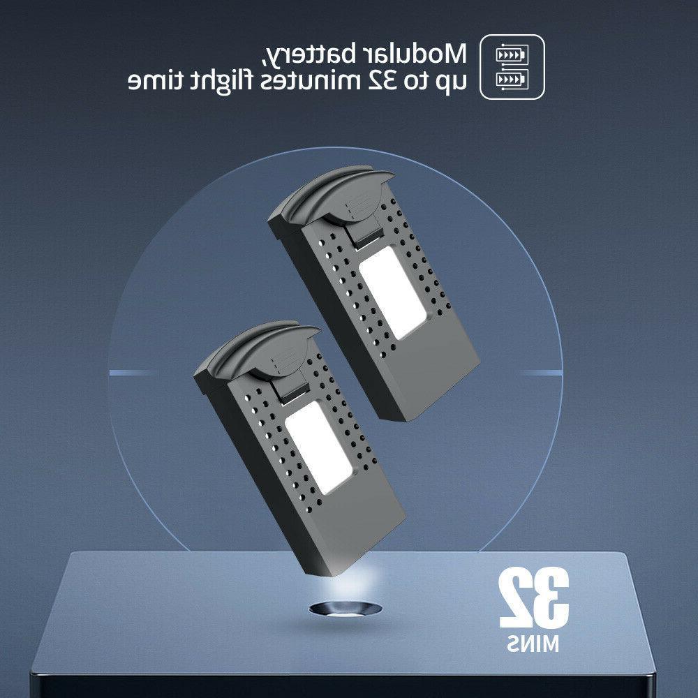 Holy FPV RC 1080P Camera Foldable Quad Batteries