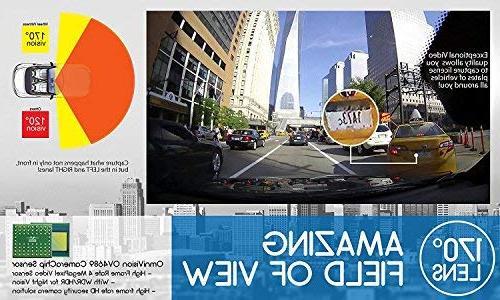 WheelWitness HD PRO GPS - HD Wide Vision Camera for 12V Cars & Trucks