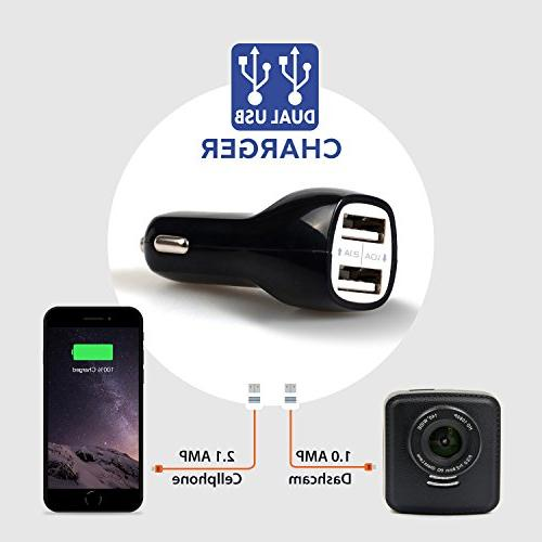 WheelWitness Dash PRO - Dash for Cars - & GPS, Sony Sensor, Dashboard Camera, DVR, G Night + Free 16GB
