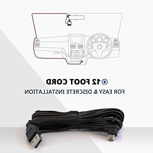 WheelWitness Dash PRO Plus - w/WiFi - for - WiFi & Sony Sensor, Car DVR, Dual G Sensor, + Free SD