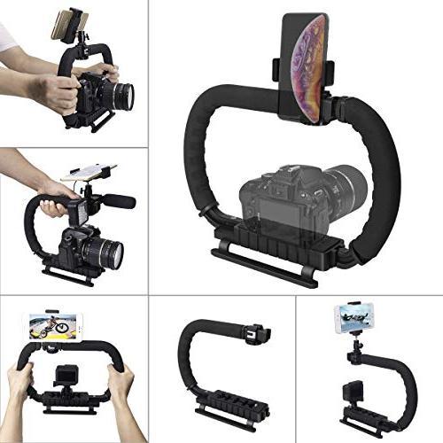 Hydra Stabilizer DC+DV 2-Hand Holder Camera Steadycam Mount