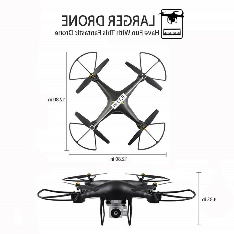 FPV WiFi Video 40 Min LONG TIME RC Quadcopter