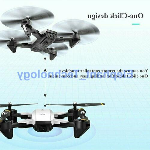 Drone X 2.4G Foldable Quadcopter WIFI FPV with 1080P USPS