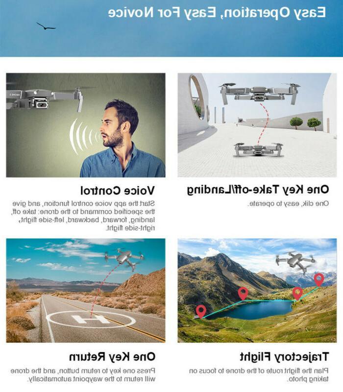 DRONE X pro Selfie WIFI 4K HD RC Quadcopter