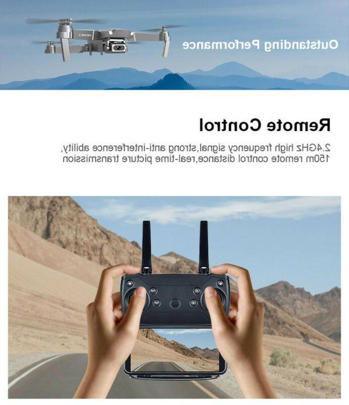 DRONE X pro Selfie WIFI 4K Camera Foldable