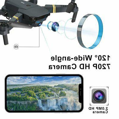 Drone Pro EXTREME w/ Batteries HD Camera Live FPV Voice Comma