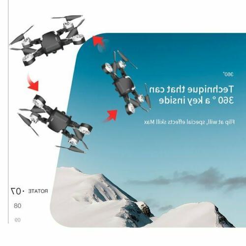 Drone 1080P HD FPV Foldable Wide-Angle Selfie