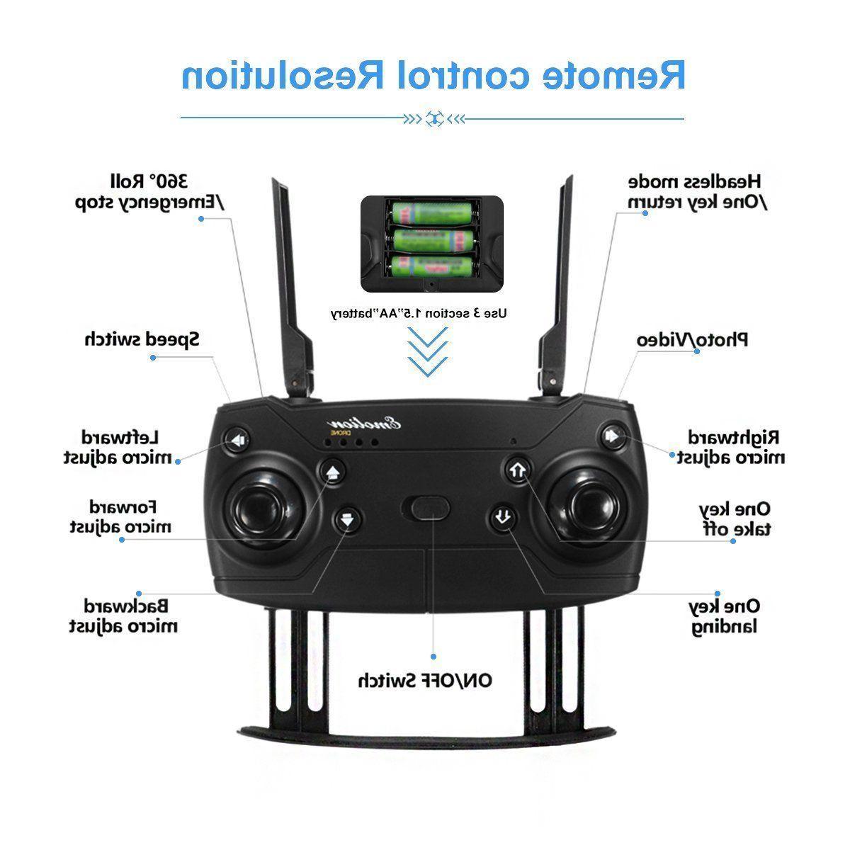 Drone X PRO Quadcopter Mavic Pro 720p WIFI Foldable Drone
