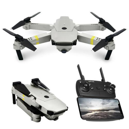 E58 X Pro Foldable Quadcopter with 2MP Camera 3 Batteries