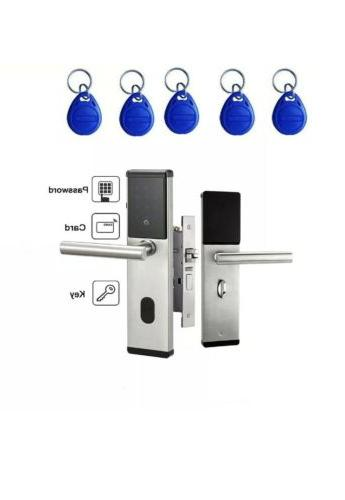 Electronic Digital Door Keypad Touch Screen & Cards