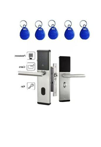 electronic digital smart password door lock keypad