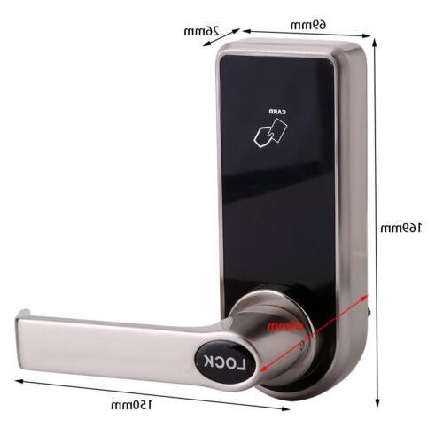 Electronic Digital Door Lock Screen Card