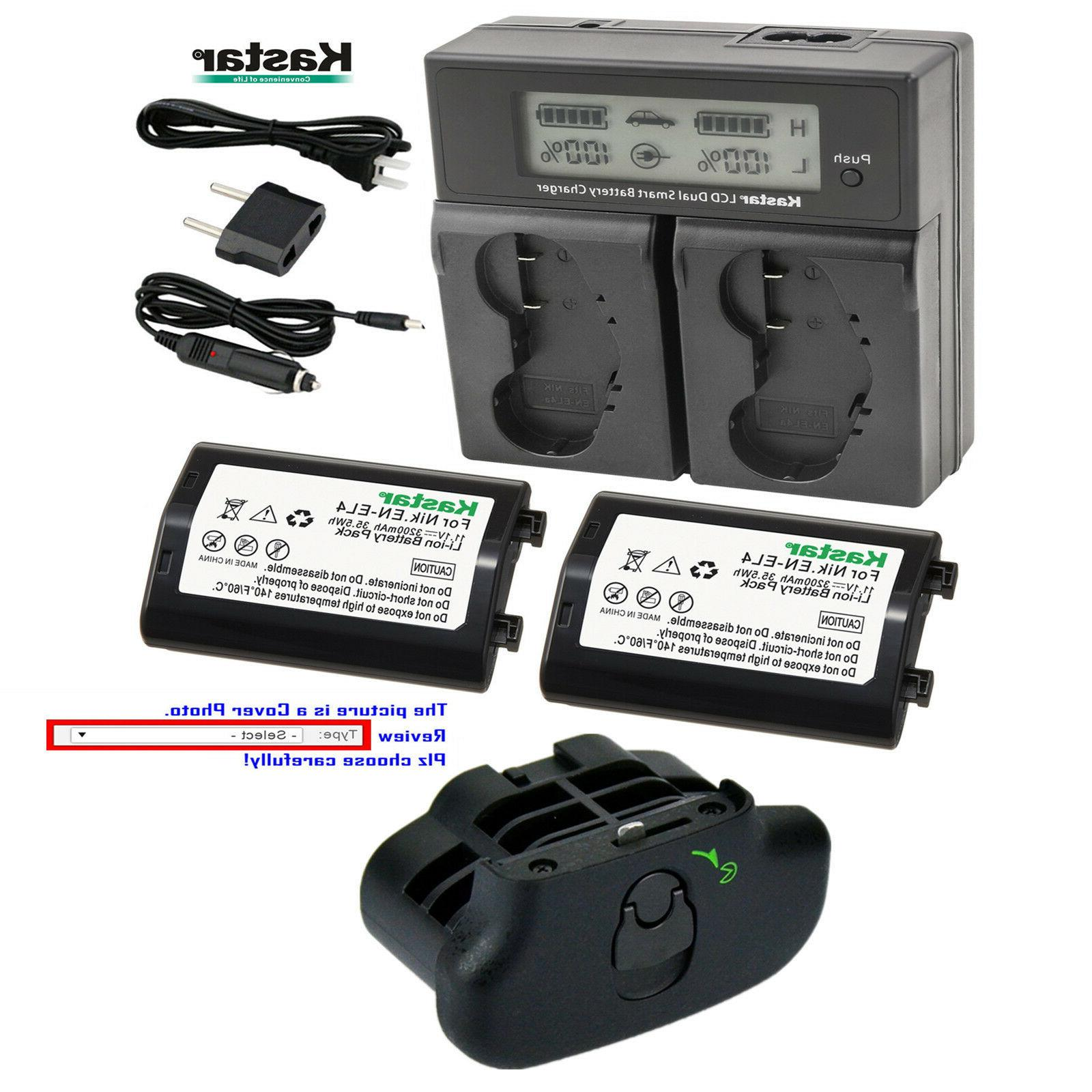 EN-EL4 Battery, Charger for Nikon D2Z D2H D2Hs D2X D2Xs D3 D