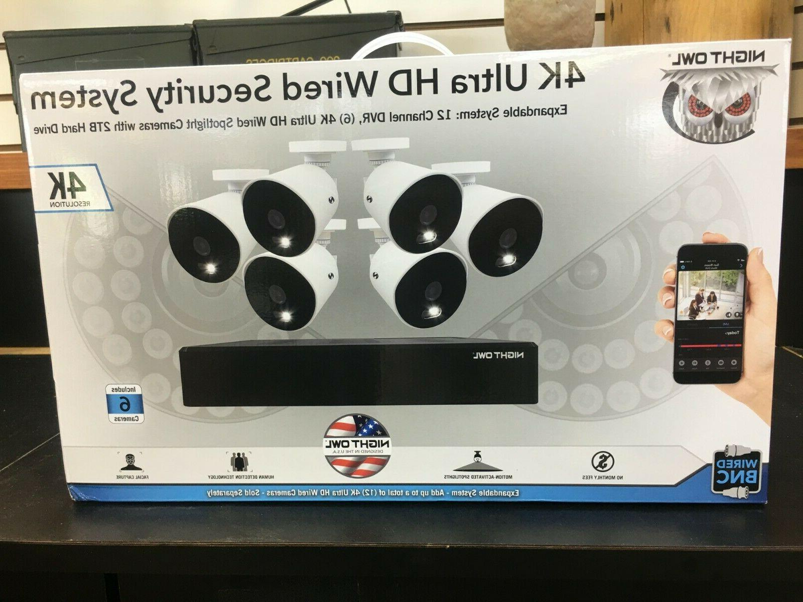 expandable 12 ch wired dvr w 6