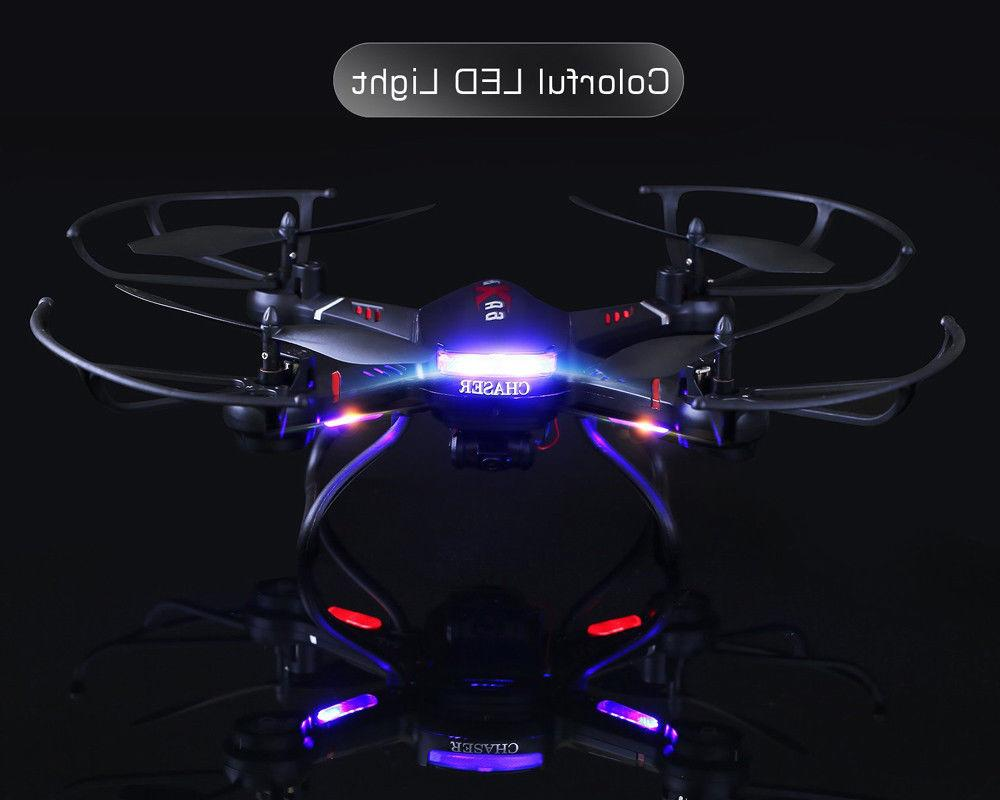 Holy F181C RC Drone Helicopter for Beginner 3 Battery