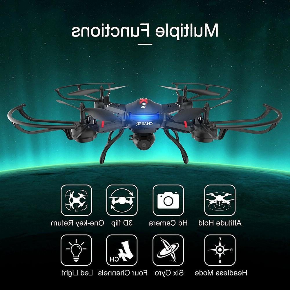 Holy Drone With Camera Wide Angle FPV Selfie Quadcopter