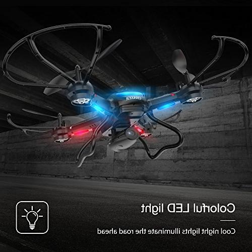 Holy Stone FPV Wide-Angle Camera Live Video RC Quadcopter with Altitude Hold, Gravity Function, RTF and to Fly Compatible with Headset