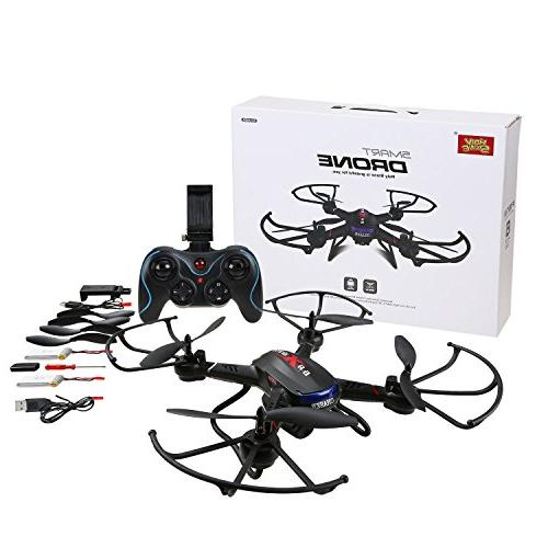 Holy FPV Drone with Wide-Angle Camera Video Altitude Hold, Sensor Function, RTF and to Fly for Compatible VR Headset