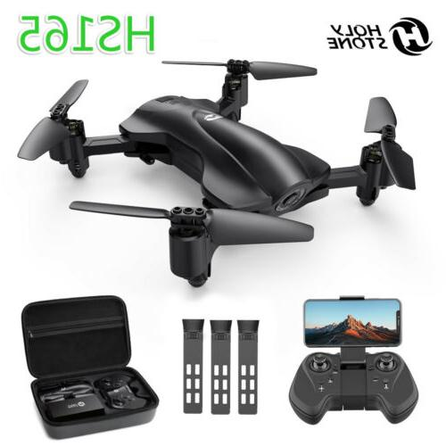 foldable gps drones hs165 with wifi 2k