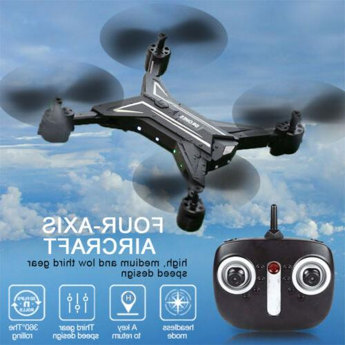 Foldable WiFi FPV Drone HD Helicopter Hover One Return US