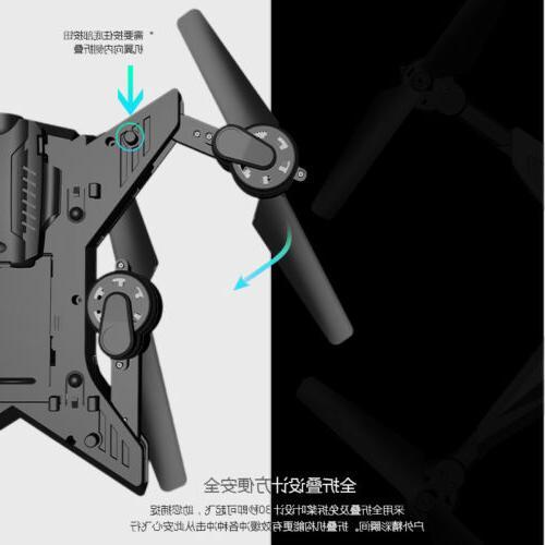 Foldable WiFi FPV Drone Camera Hover One Return