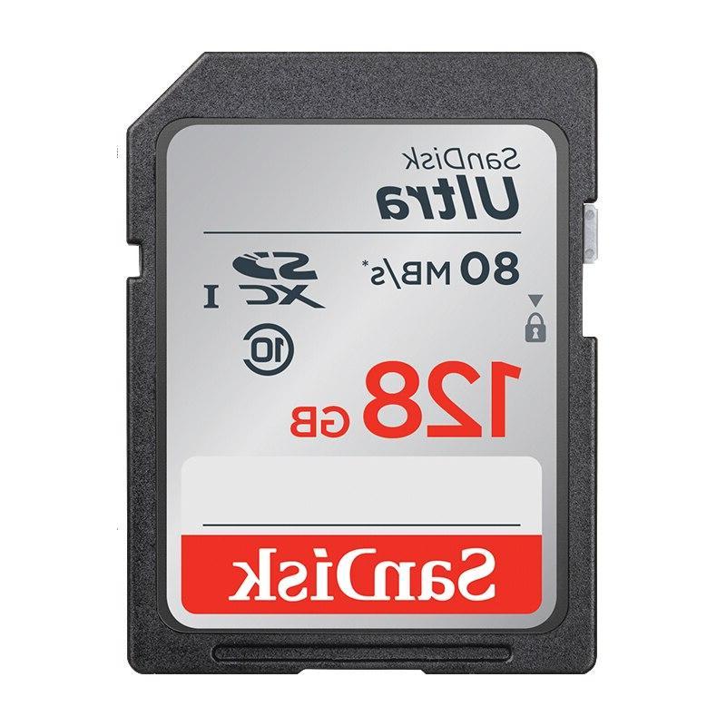<font><b>SanDisk</b></font> Ultra SDHC/SDXC SD Card 16GB 64GB Cards UHS-I Flash for <font><b>HD</b></font> <font><b>Camera</b></font>