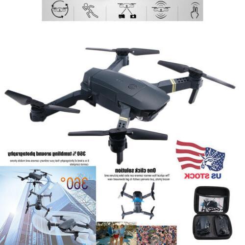3D VR Function FPV Wifi Drone HD Camera Aircraft Foldable Qu