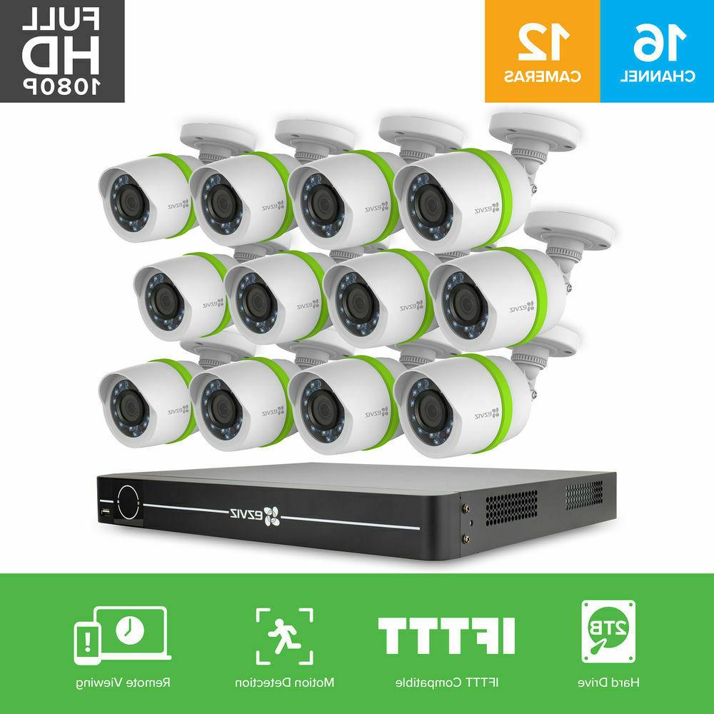 Ezviz FULL HD 12 Cameras channel Surveillance Security HDD