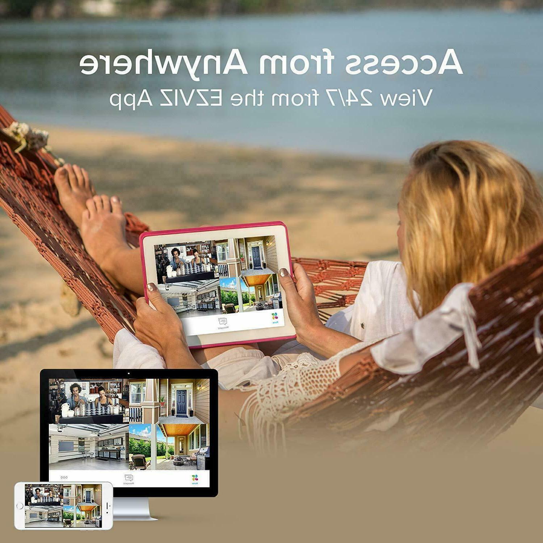 Ezviz FULL HD 12 Cameras channel Surveillance HDD