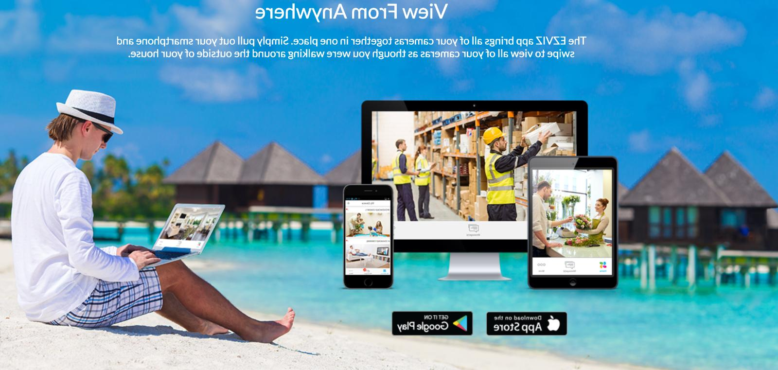 Ezviz 12 channel Surveillance System 2TB HDD