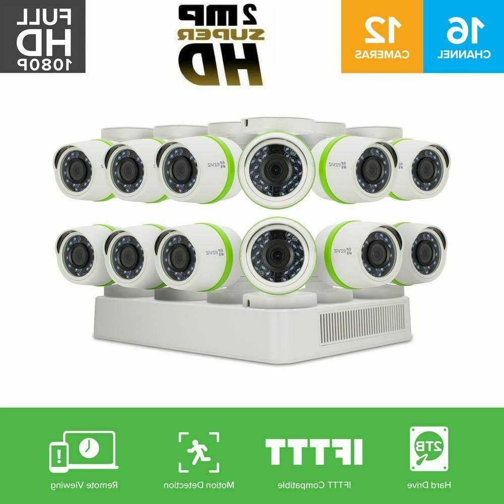 full hd 1080p 12 cameras 16 channel