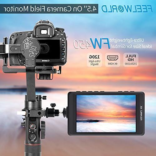 DSLR Camera Output Focus 1280x800 Ultra Lightweight Assist