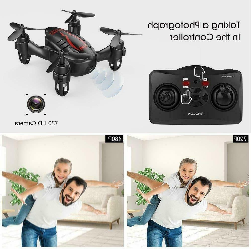 DROCON Mini With HD Micro RC Quadcopter Kids Bestgift