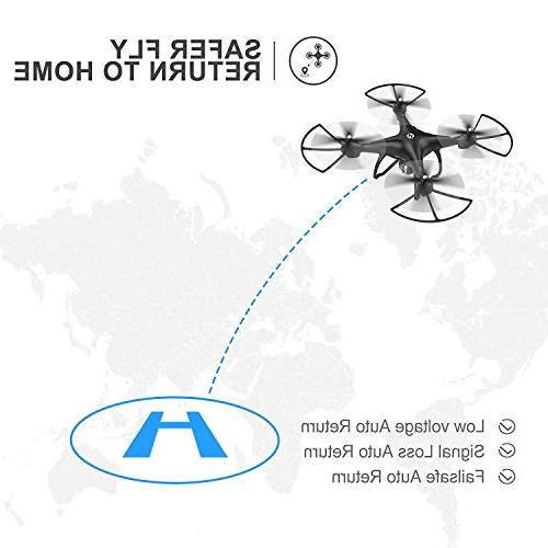Holy RC with Camera Video HD GPS Home Quadcopter Wide-Angle WIFI Me, Hold, Intelligent Battery Long Control Range