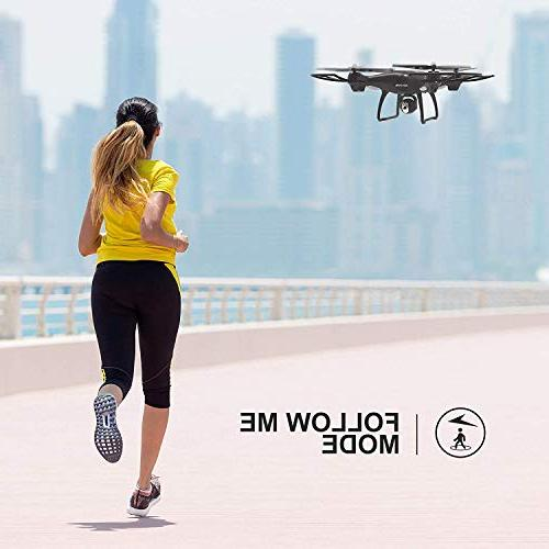 Holy GPS FPV RC Drone HS100 with Camera Live Video 1080P HD and Return Home Quadcopter Wide-Angle Me, Altitude Intelligent Battery Long