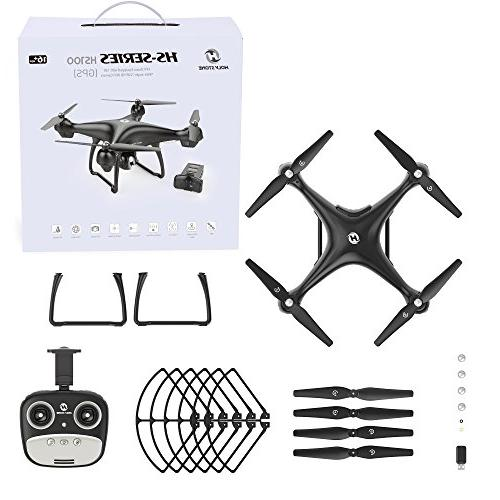 Holy Stone GPS RC Camera Live 1080P HD Home Quadcopter with Wide-Angle WIFI Camera Me, Altitude Intelligent Battery Long Control