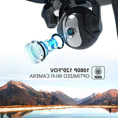 Holy Stone GPS RC Drone HD GPS Home Wide-Angle Camera Me, Altitude Intelligent Battery Long