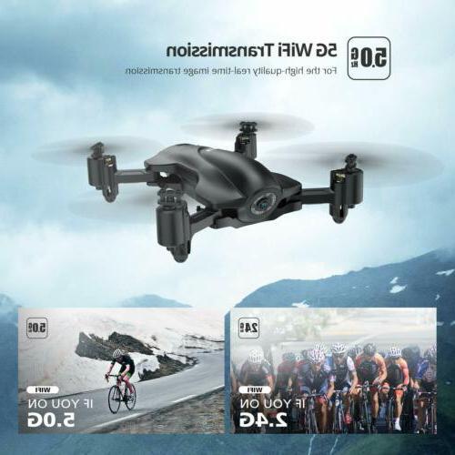 Holy Stone Foldable Drones 2K HD FPV RC