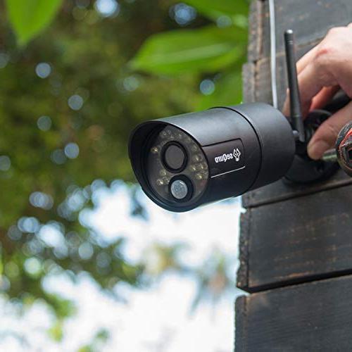 Sequro 720p Outdoor Security Surveillance