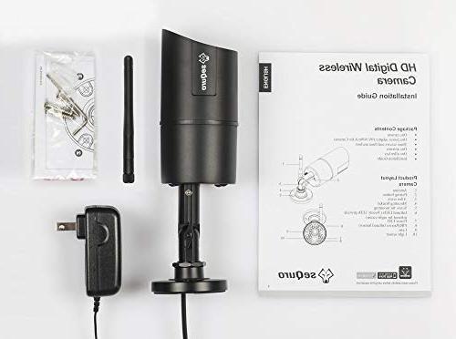 Sequro 720p Outdoor Home For Sequro Guardpro Surveillance System
