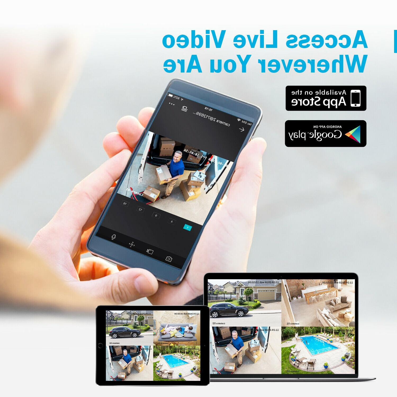 ANNKE H.264+ 8CH DVR 2MP 3000TVL Home Camera System