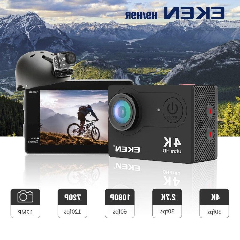 "EKEN H9R H9 Action Camera 4K 30fps 2.0"" Underwater Helmet <font><b>Cameras</b></font> Sport Cam"