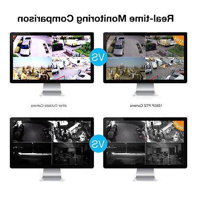 HD IP Zoom Waterproof PTZ Speed Cameras CMOS