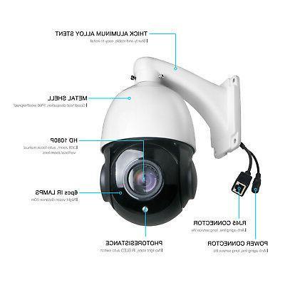 HD 1080P IP Camera Waterproof Cameras CMOS