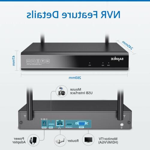 SANNCE 1080P NVR IR