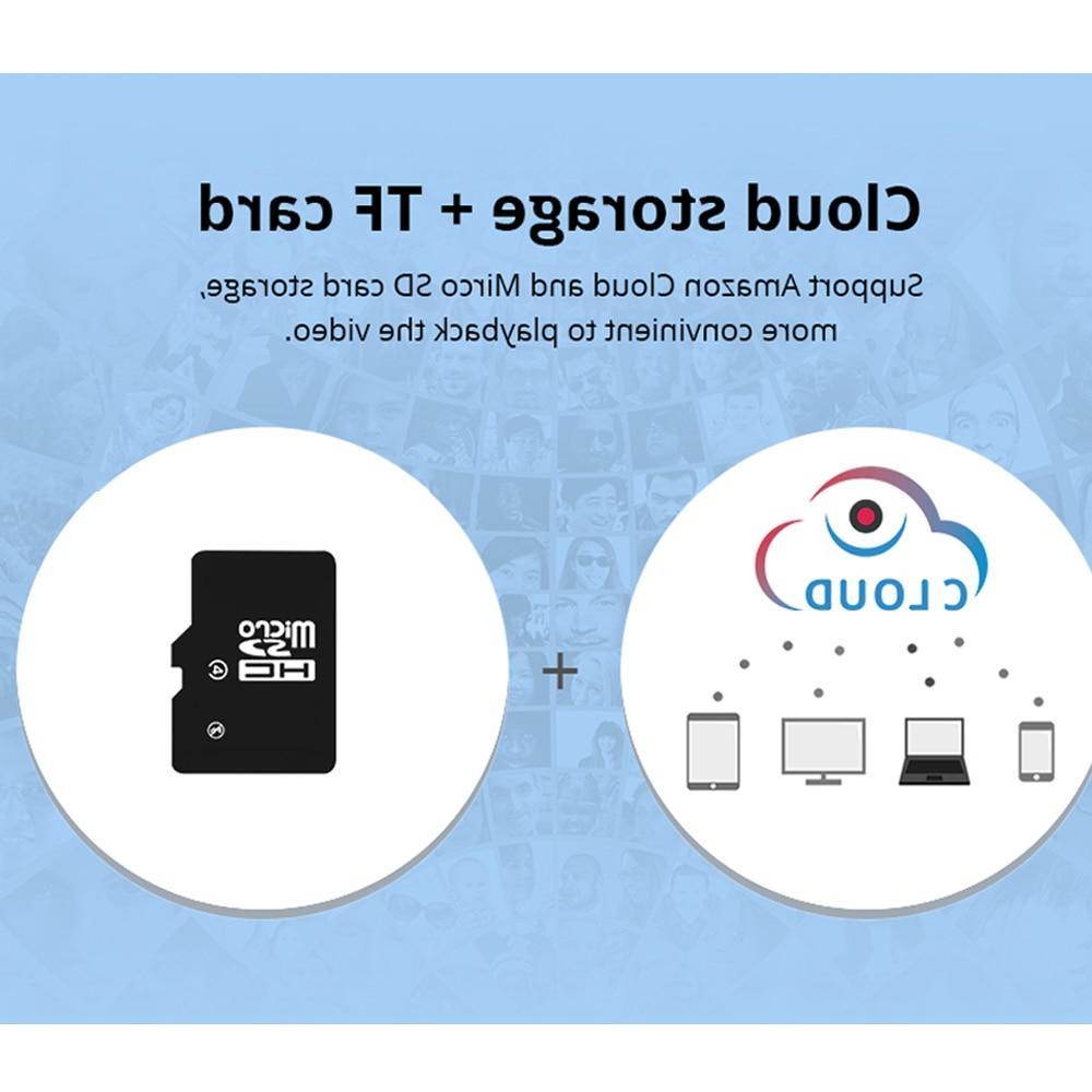 INQMEGA 1080P Cloud Wireless <font><b>IP</b></font> Auto Human <font><b>Home</b></font> Security Surveillance Network Wifi <font><b>Camera</b></font>